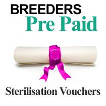 Breeders Sterilisation Vouchers For Cats