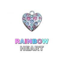 Charm Rainbow Heart