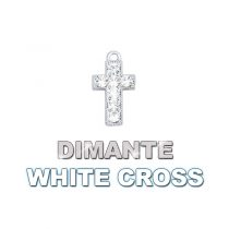 Charm Dimante White Cross