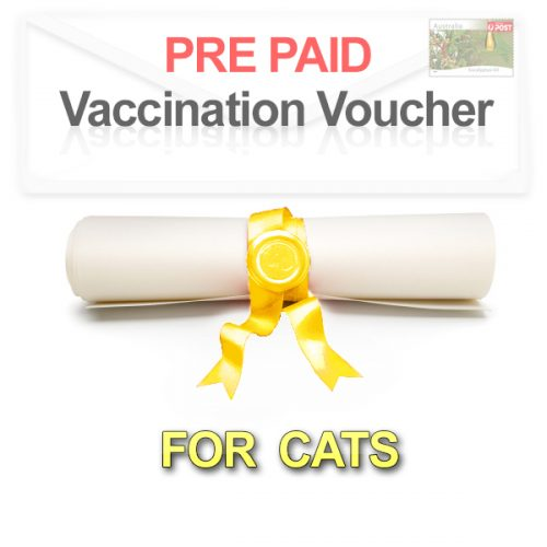 Pre paid Cat Vaccination Voucher